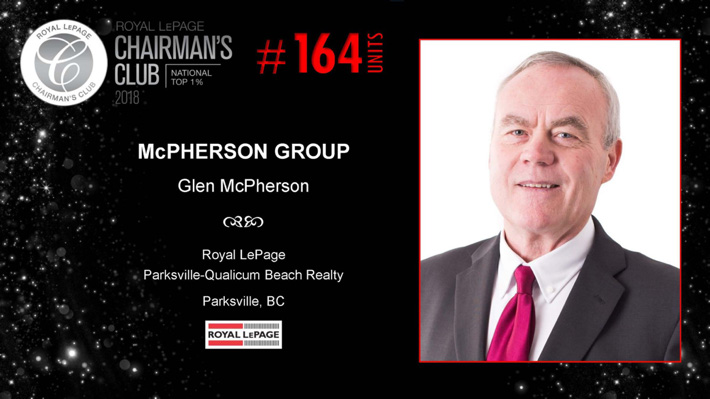 Glen McPherson Chariman's Club Image